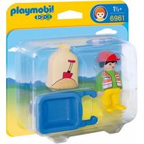 Playmobil 6961 Trabajador Construccion 1.2.3 Ciudad Retromex