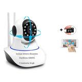 Camara Wifi Robotica.gira 360 Con App De Celular,con Sd 16gb