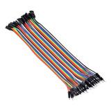Cable Jumpers Dupont Macho-macho, Hembra-hembra, Macho-hembra 20cm 40 Piezas Para Arduino Y Protoboard
