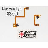 Membranas Flex Botón L Y R Nintendo 3ds Old Nuevos