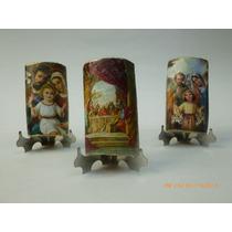 Tejas Miniatura Con Base De Acero Inox *ideal Para Bolo