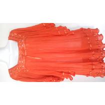 Blusa Naranja Con Liston
