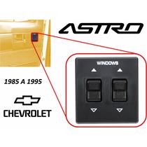 85-95 Chevrolet Astro Control Maestro Vidrios Electricos