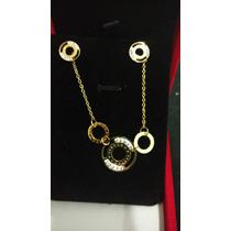 Set Búlgari Style Collar Y Aretes Envio Gratis