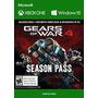 Gears Of War 4 Pase De Temporada Código De 25 Caracteres