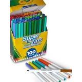 Marcadores Lavables Crayola Supertips 100 Piezas.