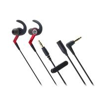 Audifonos Sonicsport In-ear Ergonomicos Color Red Audio-tech