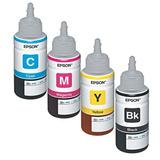 4 Pack Botella Tinta Epson T664 L310 L380 L395 L396 L575