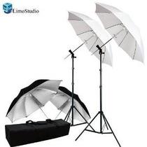 Limostudio Fotografía Foto Video Studio Umbrella Montaje Par