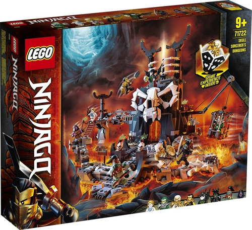 Set De Construcción Lego Calabozos Del Brujo De Los Muertos