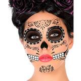 Tattoo Catrina Tatuaje Temporal Día De Muertos Halloween
