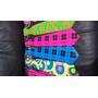 10 Corbata Colores Neon Fiesta Glow Mayoreo Batucada Venta