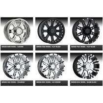 Rines Pro Comp,kmc,xd Series,moto Metal Para Pickup Y Suv