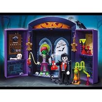 Playmobil 5638 Laboratorio Portatil Dracula Zombie Halloween