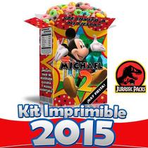 Kit Imprimible Mickey Mouse Fiesta Todo En Uno 100% Editable