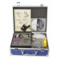 Kit De Tatuar Rotativa/kit Completo Con Fuente Dgv