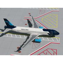 Avión Airbus A320 Mexicana 1/200 Metal Aeromexico Raro