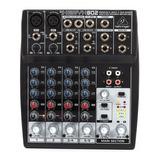 Behringer Xenyx 802 Mezcladora Mixer 8 Entradas