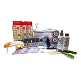 Kit Profesional Para Uñas Acrílicas Mc Nails  + Regalos