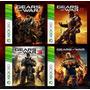 Saga De Juegos Gears Of War (digitales) Xbox 360 Y One