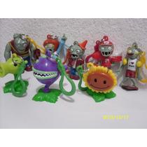 Mi Colección Completa 8 Llaveros Plantas Vs. Zombies.