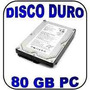 Disco Duro Para Computadora Sata 80gb Cable Gratis Seminuevo