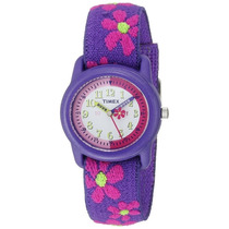 T89022 Reloj Floral Timex Para Niña Nuevo Blakhelmet Sp