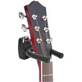 Sujetador Soporte Pared De Guitarra Bajo Fácil De Instalar