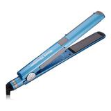 Plancha De Cabello Babyliss Pro U Styler Azul Con Placas De Cerámica Y Titanio 110v - Babnt2071