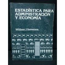 Stevenson, Estadística Para Administración Y Economía