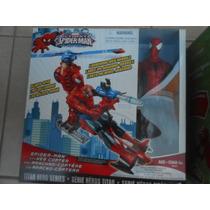 Spiderman Con Lanza Misil