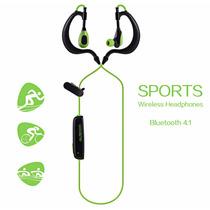Audífonos Sport Bluetooth 4.1 Incluye Estuche Android-iphone
