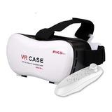 Lente Realidad Virtual 3d Vr Case Celular Lentes + Control