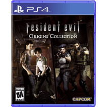 Resident Evil Origins Collection - Ps4 (físico) *fgk* Msi