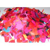 Confeti A Cuadros Fiesta Bazuca Batucada Globos Papelitos