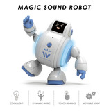 Robot Inteligente Táctil Para Niños Juguete Baila Canta
