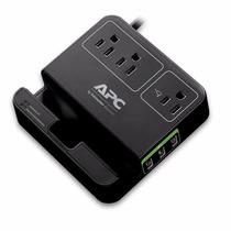 Apc Supresor De Picos Usb Protección Voltaje P3u3b Tableta