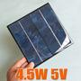 Celda Solar 4.5 Watts 5 V 900ma