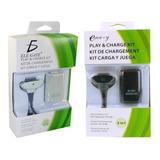 Carga Y Juega Pila Y Cable 4800 Control Inalámbrico Xbox 360