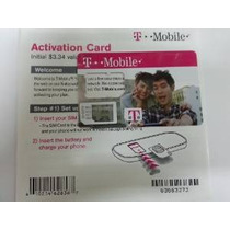 Tarjeta T-mobile Nano Sim (cut Custom) Con El Kit De Activac
