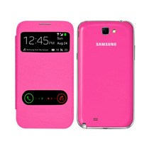 Samsung Galaxy Note 2 N7100 Flip Cover S View Rosa