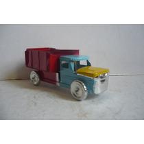 Camion De Volteo - Camioncito De Lamina Juguete Artesania