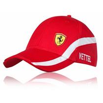 Gorra Ferrari Sebastian Vettel Original F1 Formula 1