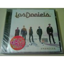 Los Daniels Amanecer Cd + Dvd Nuevo Cerrado