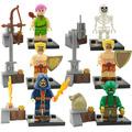 Set De Clash Of Clans , Batalla De Los Clanes Tipo Lego