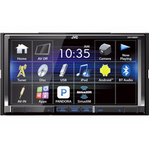 Pantalla Jvc Kw-v420bt Doble Din 7pulg Dvd Bluetooth Android