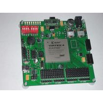 Fpga: Xilinx Virtex-4 Xc4vfx60 Kit. Tarjeta De Desarrollo