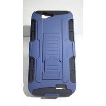Clip, Funda,protector Uso Rudo Huawei G7 Azul Fuerte