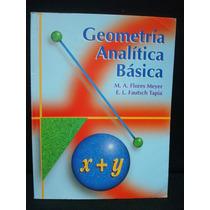 Fautsch, Flores Meyer, Geometría Analítica Básica