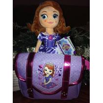 Bolsa Y Peluche De La Princesa Sofia De Disney Store